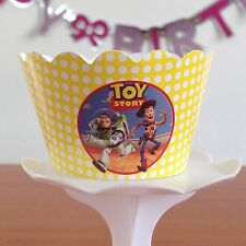 12 Kids Movie charactor Bday Party Cupcake Wrappers - WORLDWIDE FREE SHIPPING