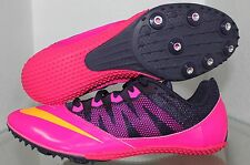 Women's Nike Zoom Rival S 7 Track and Field Shoes, Pink/Black