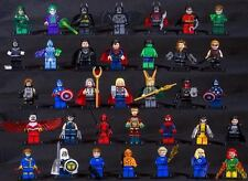 Marvel DC Avengers Superhero minifigs - compatible with Lego