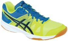 NEW Asics Gel-Upcourt MENS Volleyball Shoes, Yellow/Black/Portapia, B400N-6490