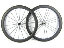 3sbike G3 pattern carbon road wheel 50mm clincher racing wheel 700C free paint