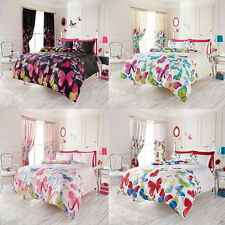 8pc Bumper Set Duvet Cover & Pillow Cases + Fitted Sheet +Curtain, Double & King