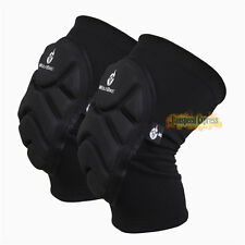 Heavy Duty Work Skating Ski Nonslip Knee Pads Cap Knee Protective Gear 1Pair New