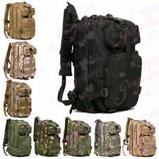 30L Molle Military Rucksacks Backpack Tactical Outdoor Hiking Camping bag