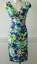 $134 Lauren Ralph Lauren  Cap Sleeve Sheath Dress, Size-6, New