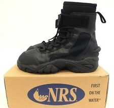 NEW NRS WORKBOOT WETSHOE NEOPRENE BLACK - SEALS KAYAKING RIVER RESCUE NIB