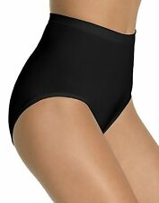 2 pack BALI Seamless Firm Control Briefs - Style X204 - Featuring Black