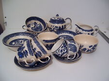 Johnson Brothers China Replacement Tableware - Blue Willow