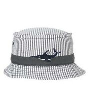 NWT Gymboree Yacht Team Marlin Seersucker Bucket Hat Sun Hat NEW Boy 0-12 months