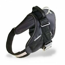 Julius K9 IDC Powerharness Dog Harness with Siderings black NEW PULLING / CAR
