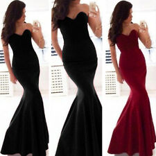 Sexy Women Long Prom Ball Cocktail Party Dress Formal Evening Gown Size 6-14