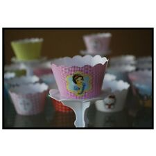 12 Bday Party Disney's Snow White Cupcake Wrappers - AUSSIE-WIDE FREE SHIPPING