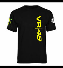 Valentino Rossi VR 46 The Doctor Moto Mens T-shirt New T-Shirt
