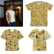 Funny Doge KABOSU Much Wow Very Such Face Popular DOG Reddit TEE T SHIRT rt0