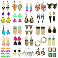 FASHION EARRINGS, COSTUME EARRINGS, TRIBAL, ETHNIC, STATEMENT, FUNKY, QUIRKY