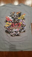 Stevie Smith World of Outlaws Sprint Car Black Bandit T Shirts