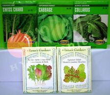 2011 VEGETABLES SEEDS: Swiss Chard Cabbage Sweet Lettuce Blend Salad Mesclun