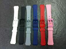 12mm & 14mm  plastic sports straps  to suit ladies watches