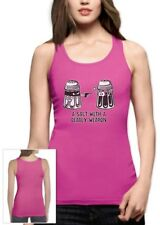 A Salt With A Deadly Weapon Women Tank Top Funny Pun Holiday Gift Idea Birthday