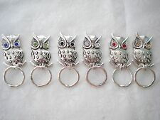 MAGNETIC orTAC PIN Name ID Badge OR EyeGlass Holder. Reading or Sunglasses Owl