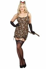 Plus Size Leopard Cat Costume