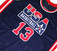 SHAQUILLE O'NEAL Jersey TEAM USA JERSEY SHAQ Navy Blue NEW ANY SIZE