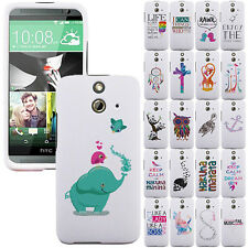 For HTC One E8 Vogue Edition Dream Catcher Design SNAP ON Hard Shield Case Cover