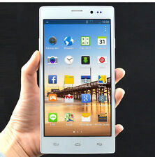 "5.5"" Unlocked Android 4.4 Smartphone Dual Core 2 Sim 3G WiF GPS White BLACK"