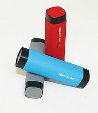 Sound Logic 2600 mAh Waterproof Power Bank Battery Charger for Cell Phone