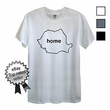 ROMANIA HOME T-Shirt FIND YOUR OWN Country Men OR Women's Romanian Flag shirt