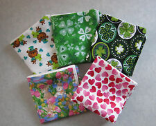 "More Removable Throw 14"" Pillow Covers St Patrick's Day Valentine's Easter"