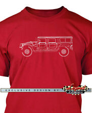 Hummer HUMVEE H1 Station Wagon Men T-Shirt - Multiple Colors and Sizes