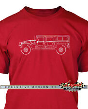 Hummer HUMVEE H1 Station Wagon Men T-Shirt - Multiple Colors Sizes  American Car