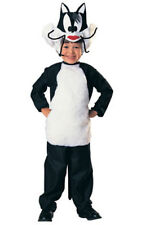 LICENSED SYLVESTER CAT LOONEY TUNES CHILD BOYS FANCY DRESS BOOK WEEK COSTUME