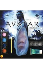 LICENSED AVATAR NAVI JACK NEYTIRI DELUXE MAKE UP KIT BLUE HALLOWEEN ACCESSORY