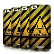 STUFF4 Phone Case/Back Cover for Apple iPhone 5C /Hazard Warning Signs