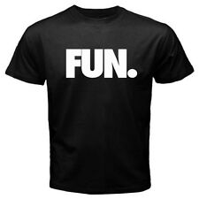 New FUN FUN. Logo Rock Band *We Are Young Men's Black T-Shirt Size S to 3XL