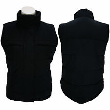 New Ladies Gilet Womens Body Warmer Black Padded Waistcoat Jacket Coat Vest