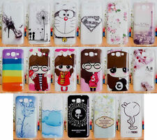 For Huawei Ascend Y520 Soft TPU Superman Cute Girl Animal High Heel Case Cover