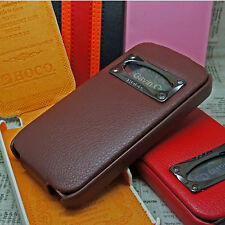 HOCO MARQUESS CLASSIC Genuine Leather Case for IPHONE 4 / 4s **XMAS SALE**