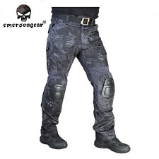 G2 Tactical Pants Emerson Gen2 Combat Pant with knee pads Airsoft Typhon EM7038T