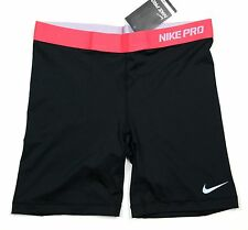 Nike Women's - PRO CORE 7 SHORTS - Black S 458656 029 training