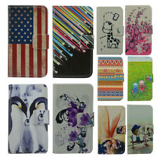 For HUAWEI case Wallet Card DELUXE leather cartoon cute Cover