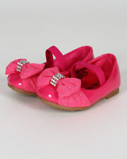 New Girl Jelly Beans Cocaya Patent PU Chiffon Jewel Mary Jane Ballerina Flat Sz