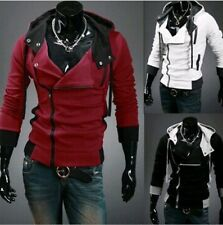 Hooded Jacket Casual Winter Jackets Assassins Creed Sweatshirt FREE SHIPPING