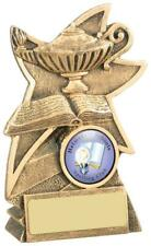 Lamp Of Knowledge Achievement Award Various Sizes, Antique Gold, Own Centrepiece