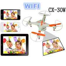 New 2.4G 4CH RC Quadcopter Drone Helicopter Wifi App Control FPV Camera CX30W Mo