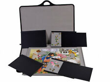 Jigsaw Puzzle Storage System Carry Case 500/1500 Piece Holder Tray Jigsort