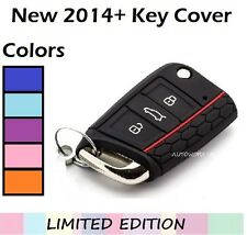 SKODA Octavia CHIAVE COVER FOB CASE SHELL PROTECTOR Remote 3 RS NUOVO 2014 2015 H