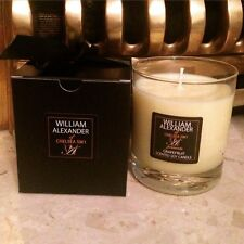 WILLIAM ALEXANDER OF CHELSEA LUXURY GLASS SCENTED NATURAL SOY CANDLE LIME NEW